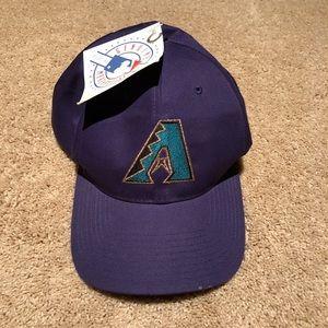 28d9687f2 Vintage 90s Arizona diamondbacks SnapBack hat NWT